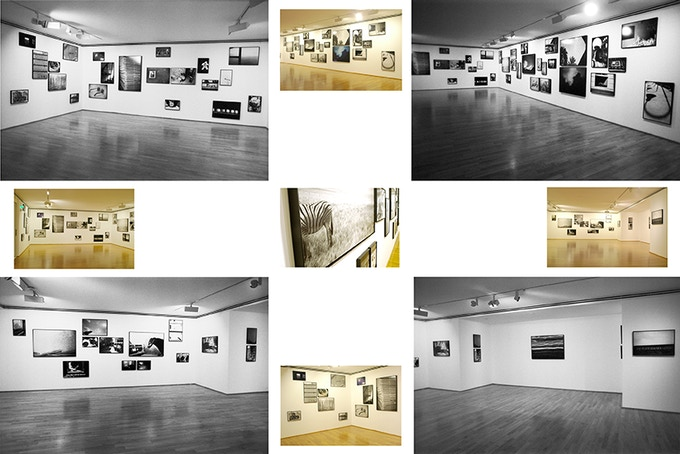 Exhibition view of the MExico Museum Prints (mixed with other series) @Museum Villa Stuck in Munich, 2010