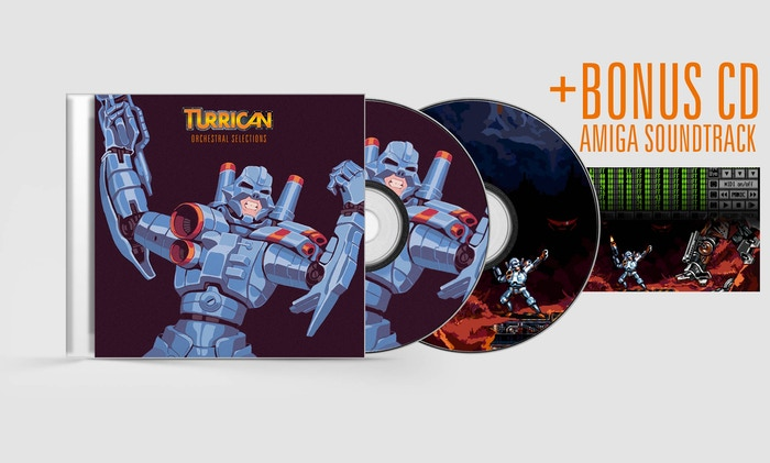 Turrican - Orchestral Selections + New Amiga Album by Chris