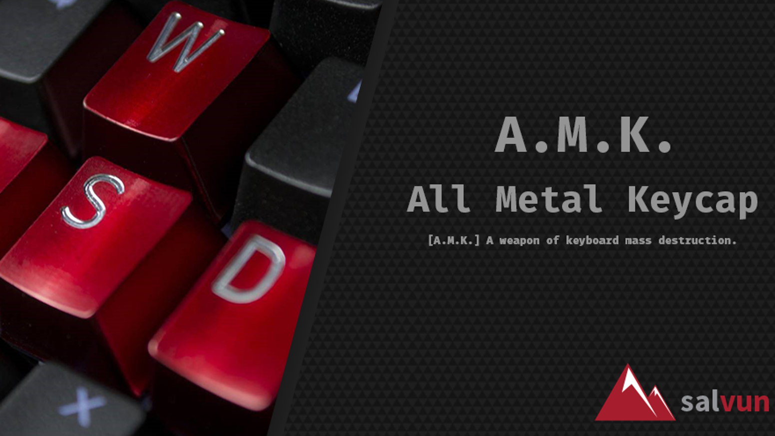 All Metal KeyCap [A M K ] by pieter-jan — Kickstarter