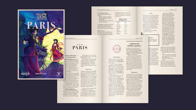 Sample layout for Paris