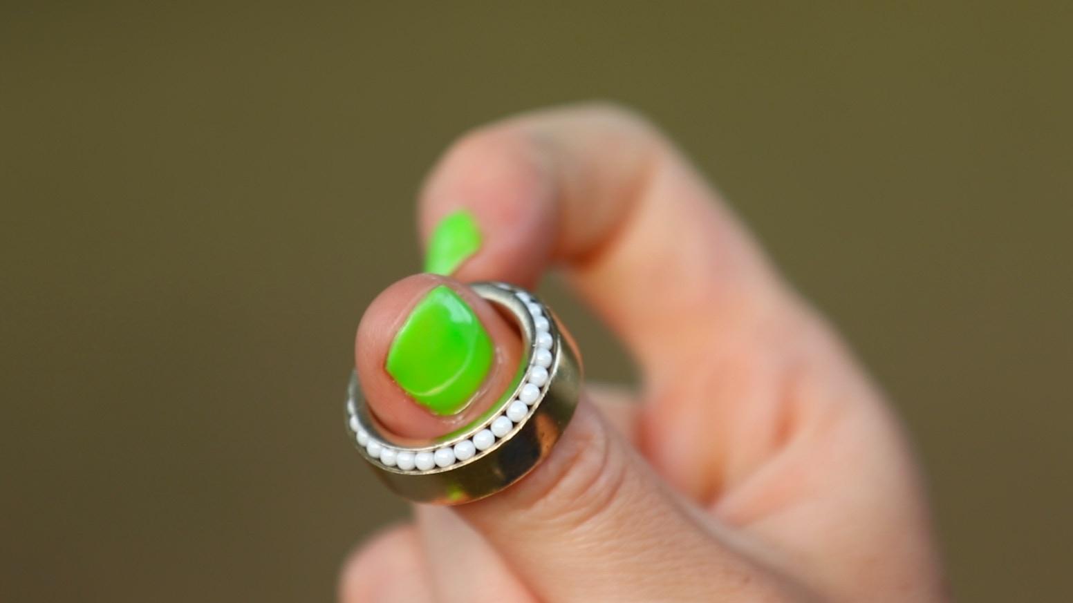 A beautiful, timeless, subtle, handheld spinner - named for Leonardo DaVinci, inventor of the bearing.