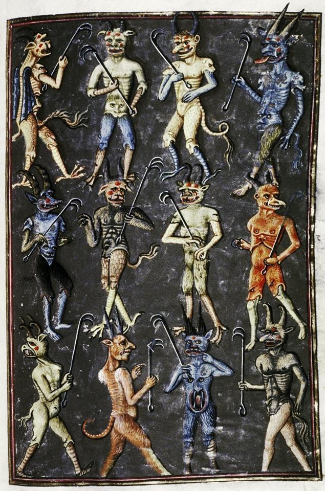 Medieval Demon Miniatures by Antediluvian Miniatures