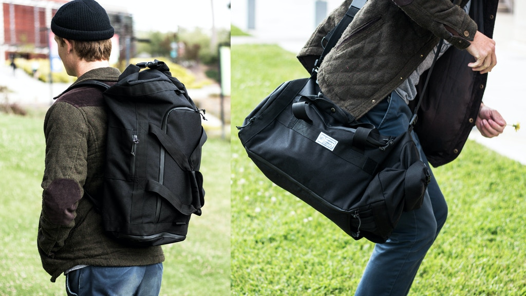 Commuter II Series: Duffle Yoga Bag And Adjustable Tote Bag project video thumbnail