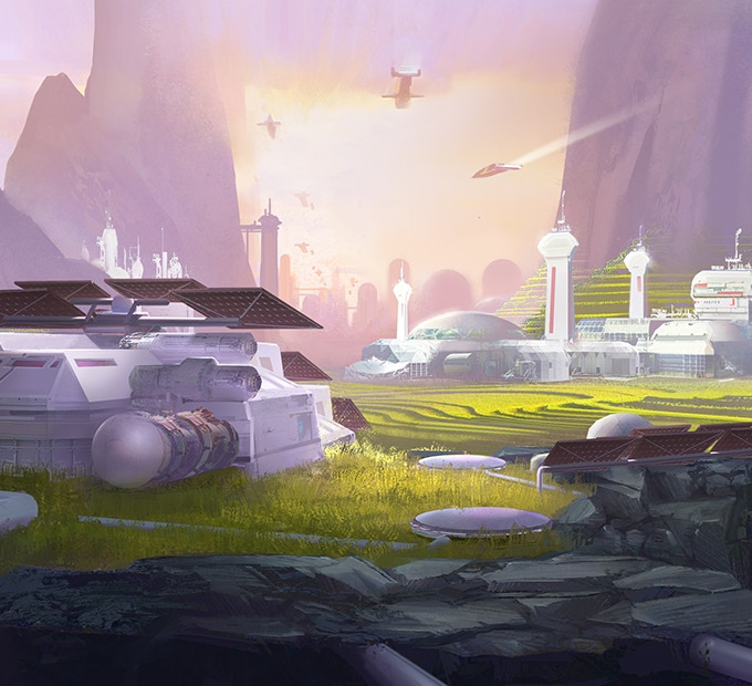 Create Biomes, landscape, cultivate a world where your lifeforms and colonists can thrive.