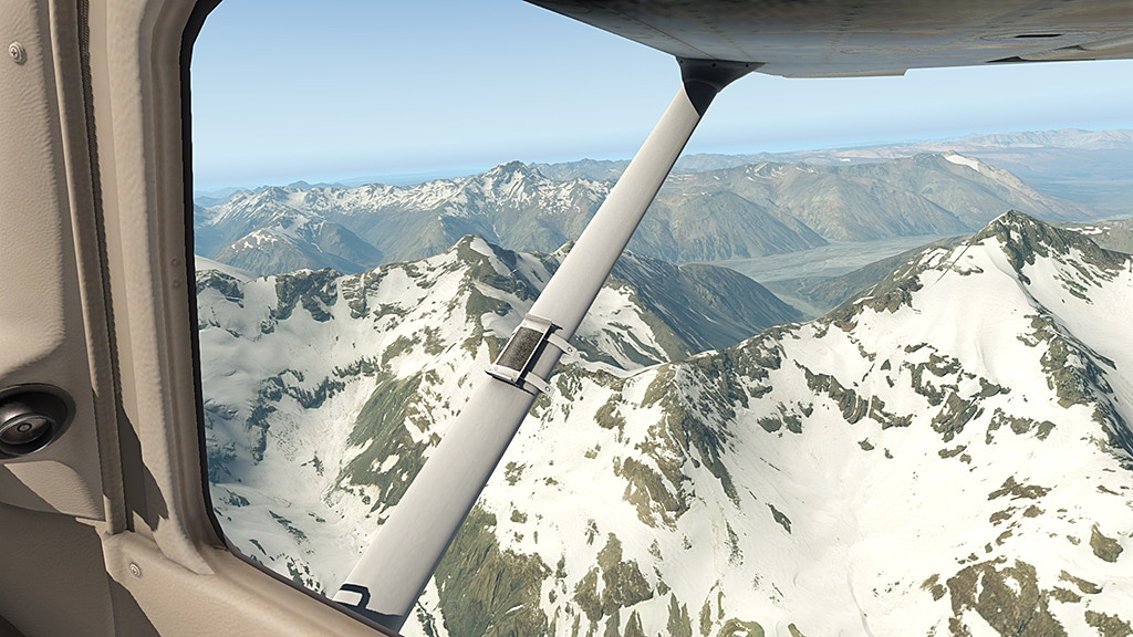 New Zealand scenery for Flight Simulation project video thumbnail