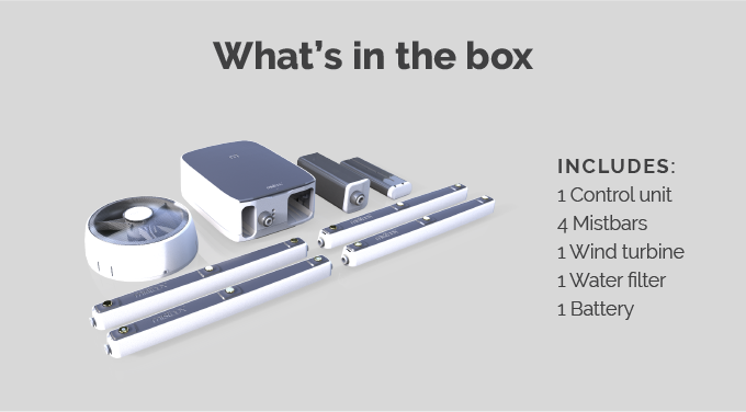 Mistbox: Energy-saving device proven to cut AC bills by 30