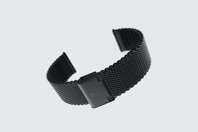 UNLOCKED ! Black milanese strap / Maille milanaise noire - 20.000€