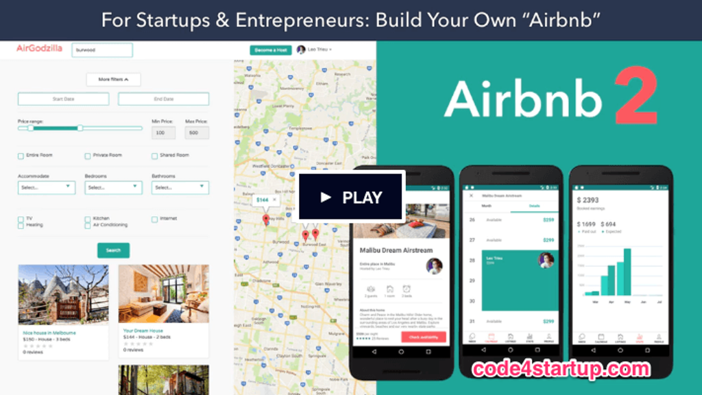 Build Your Own Airbnb with Ruby on Rails & React Native