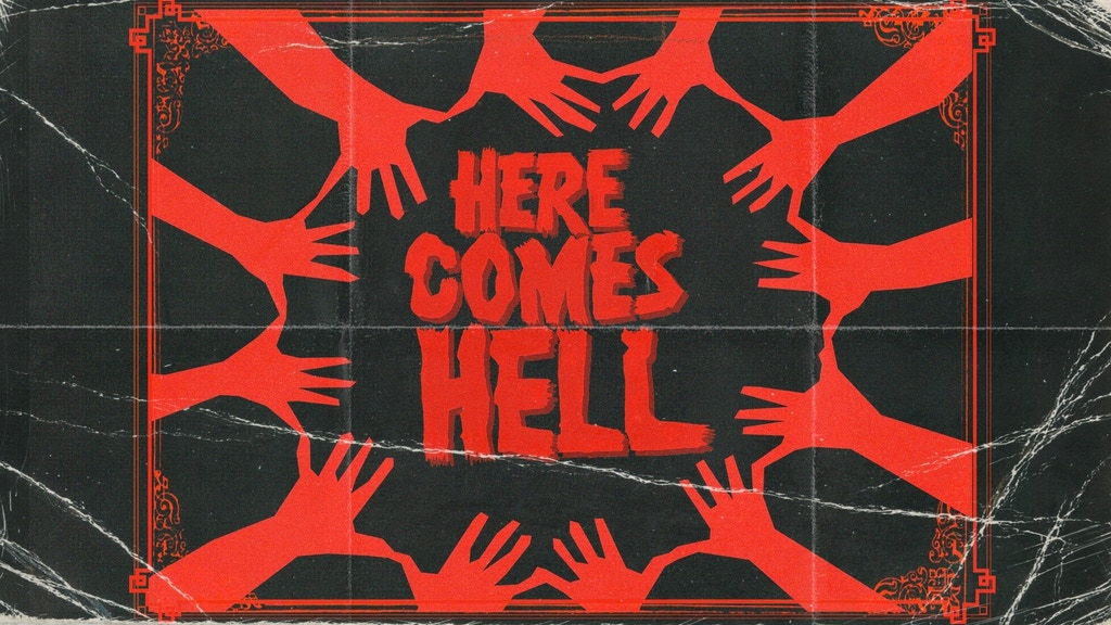 A 1930's dinner party descends into carnage, gore and demonic possession in HERE COMES HELL
