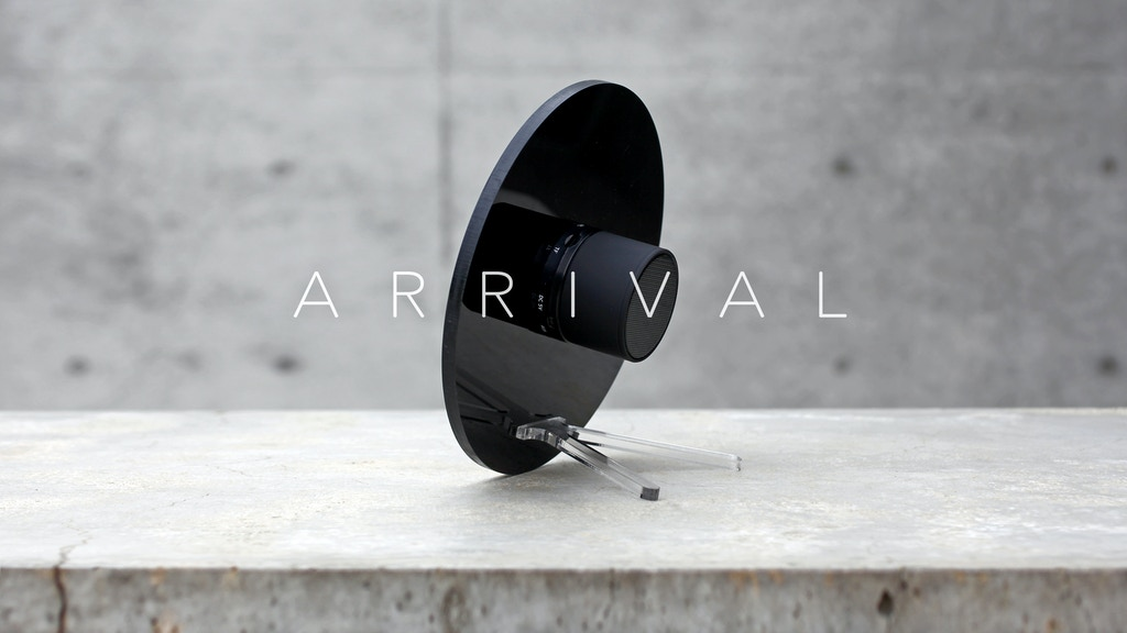 ARRIVAL - Bluetooth Speaker - Naturally Clear project video thumbnail