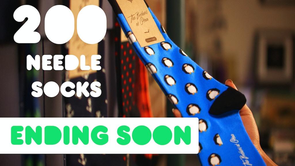 200 Needle Socks Made By OTAA project video thumbnail