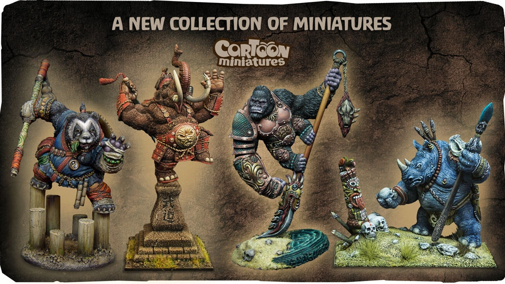 A new collection of miniatures 40 mm from Cartoon Miniatures project video thumbnail