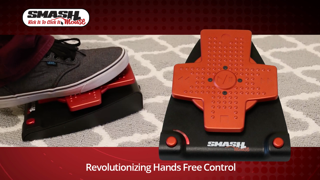 SMASHmouse Universal pedal for hands-free computer control