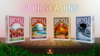 Bicycle Four Seasons Playing Cards
