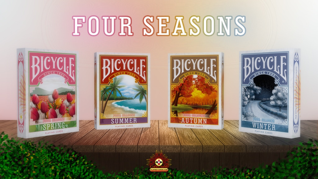 Project image for Bicycle Four Seasons Playing Cards