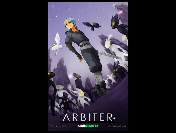 Arbiter Poster by MGO - Jesu Gormaz (@Nhune)