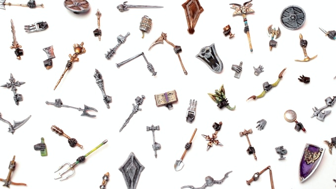 Hand of Glory: Modular Magnetic Gaming Miniatures by Hand of