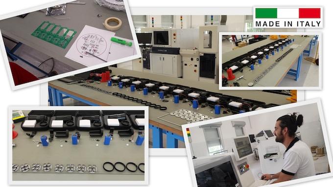 Second Prototypes Production located in Reggio Emilia ( Italy )