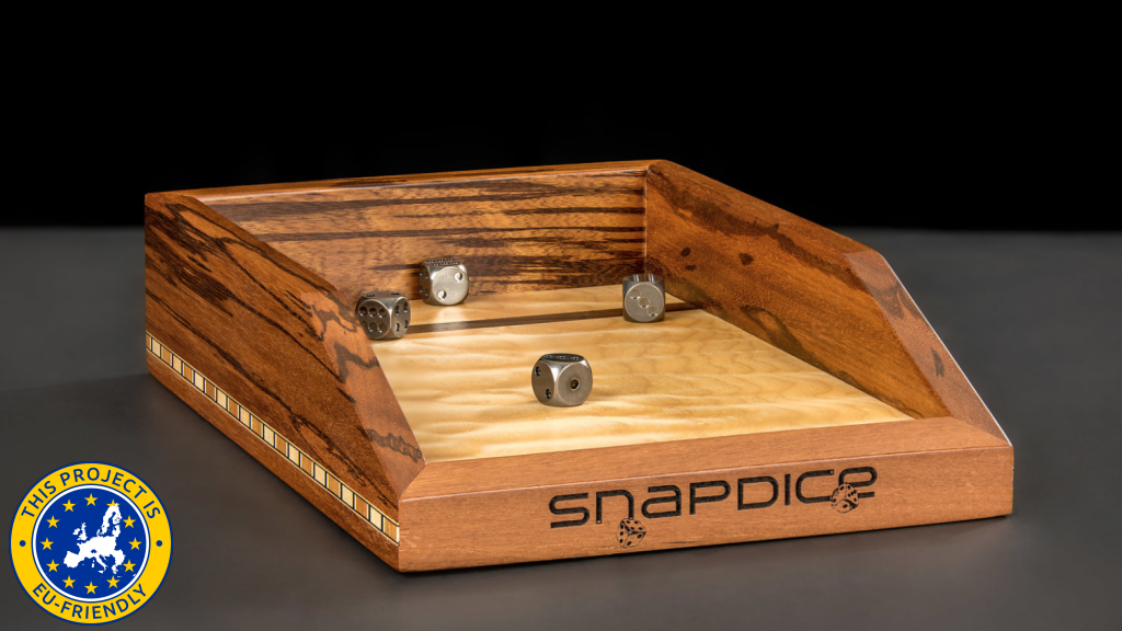 SnapDice: Magnetic Dice Rolling Tray project video thumbnail