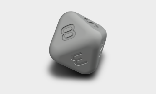 D8 Polyhedral Dice