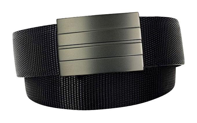 X2 Buckle & Black Reinforced Nylon Belt