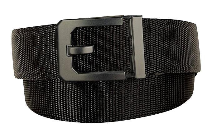 X3 Buckle & Black Reinforced Nylon Belt