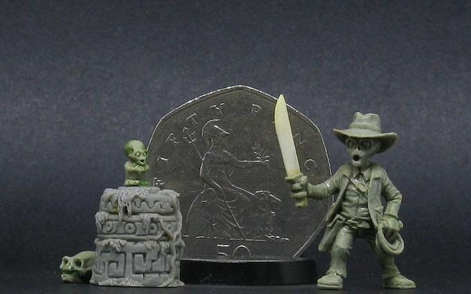 Do'Kjonnz, clumsy Tomb Raider with machete