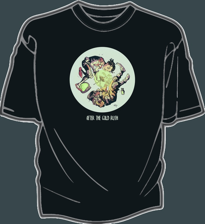 ATGR T-Shirt, featuring Scout of course! Art by Zak Hartong