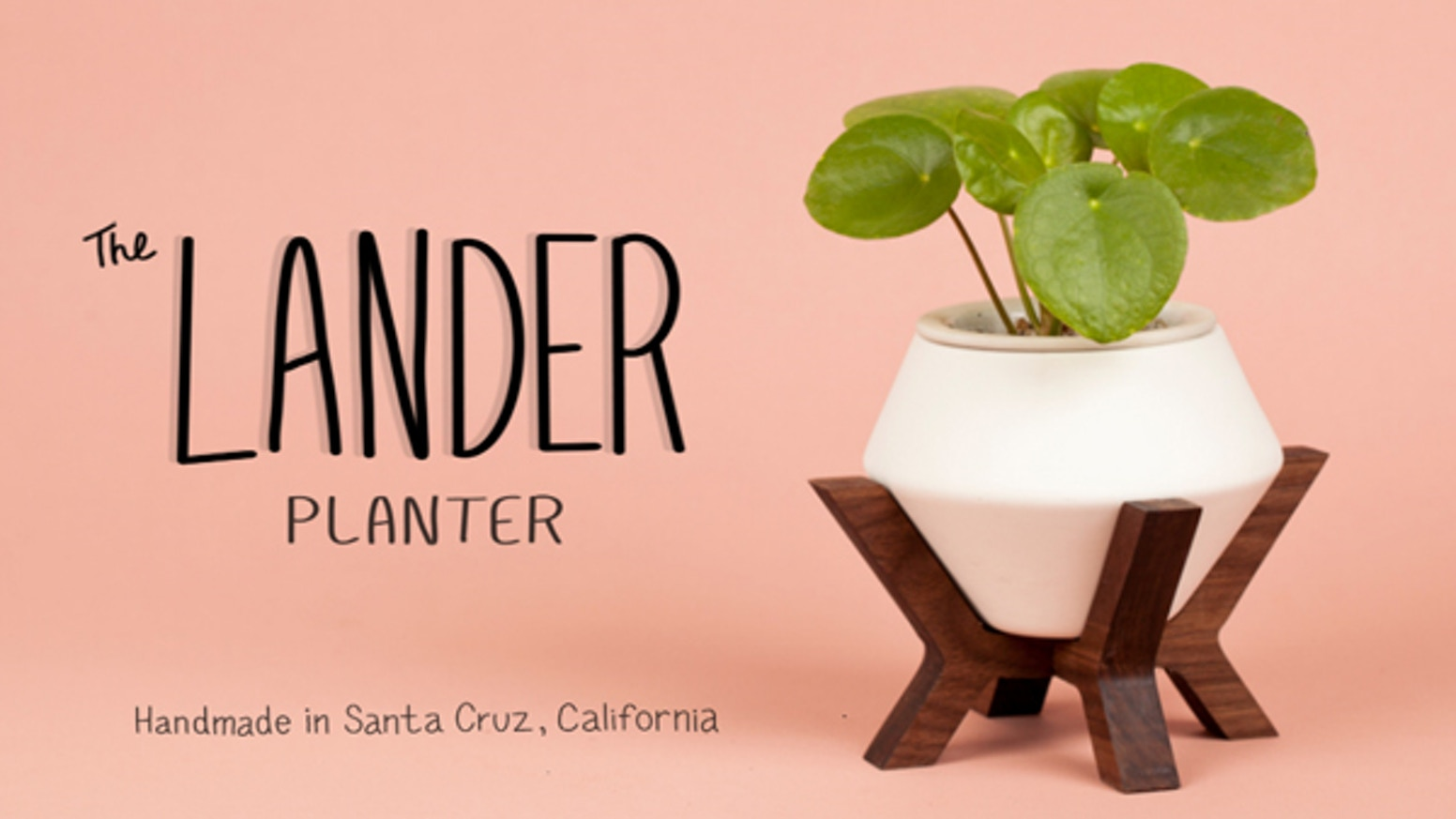 A simple self watering planter designed to bring joy to your living and work spaces.