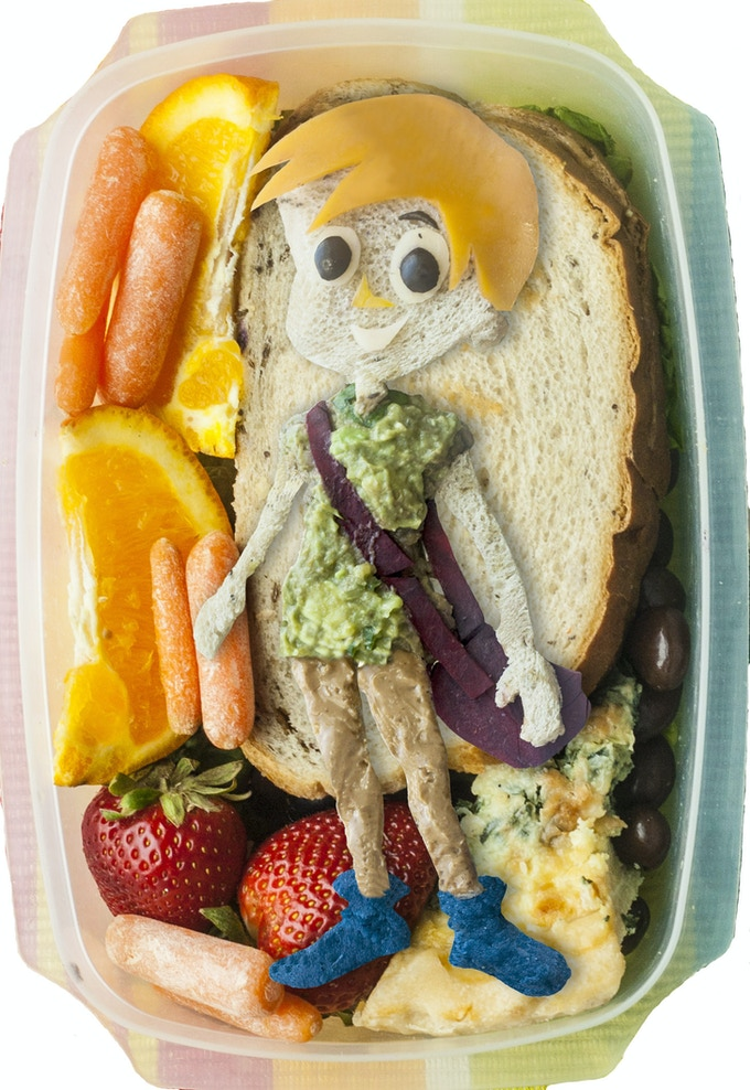 Lunchbox Character - Ethan