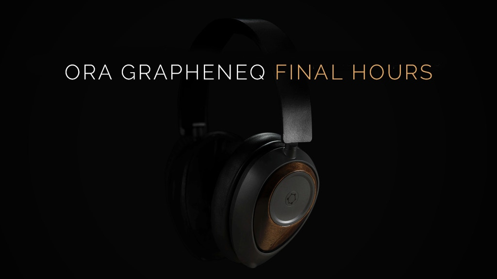 ORA: The World's First Graphene Headphones project video thumbnail