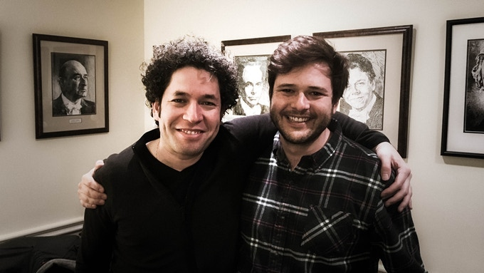 The day Gustavo Dudamel experienced Graphene Audio for the first time