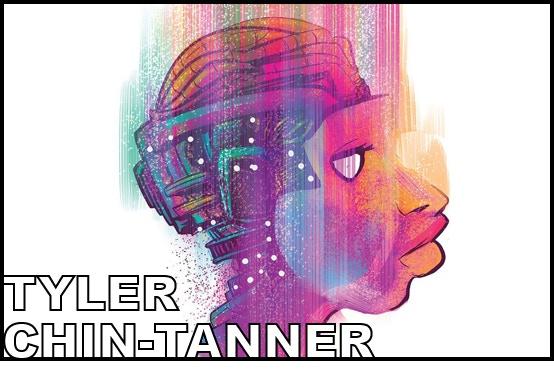 Writer TYLER CHIN-TANNER (Broken Frontier, American Terrorist)