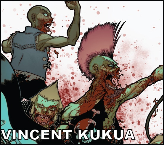 Artist VINCENT KUKUA (Image Comics Production Artist)