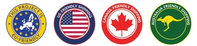 Friendly Worldwide shipping!