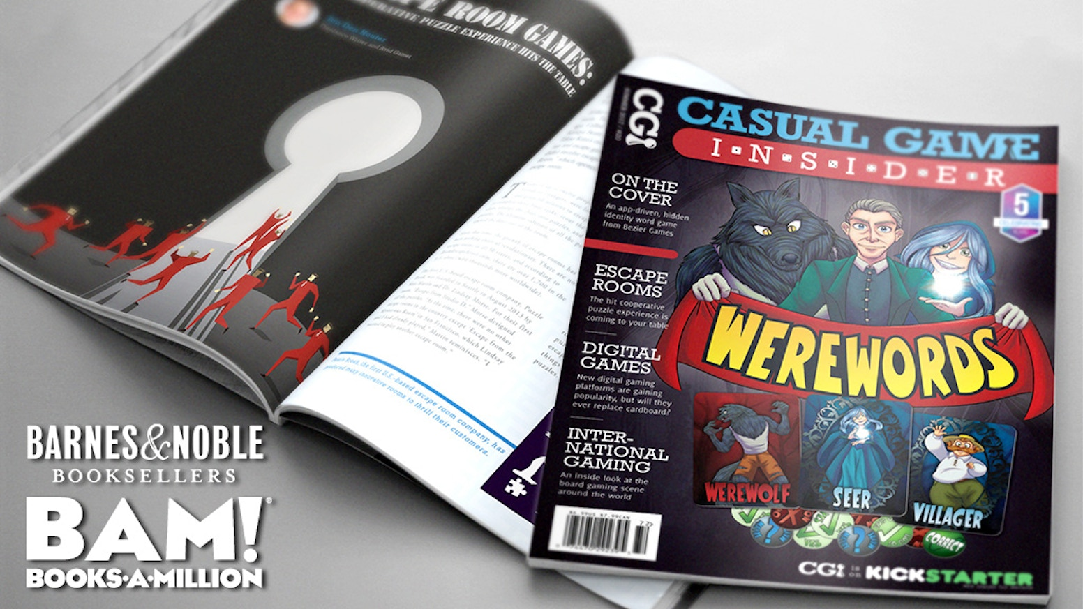 The premier guide to casual tabletop gaming, with professional design and quality content. Now with a new look!