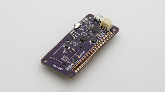 Track JuiceBox Zero - Raspberry Pi Zero Battery Management