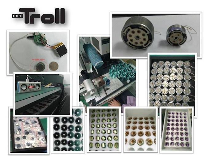 Calendar Extender Design : Mini troll the world s smallest resonance speaker by vibe