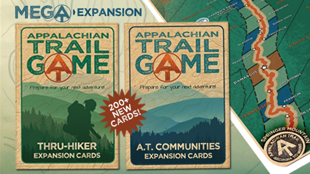 The Appalachian Trail Game - The ME-GA Expansion Set project video thumbnail