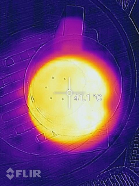 Thermal Image Top View