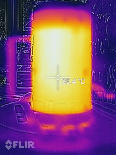 Thermal Image Side View