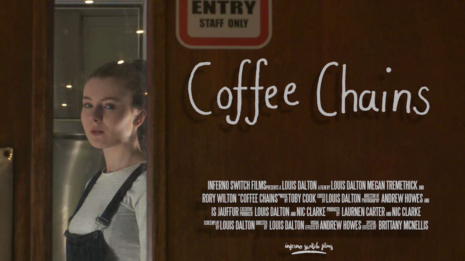 Coffee Chains is a 10m Drama which is both motivational and comedic. Starring Megan Tremethick and Rory Wilton (Poldark, Doc Martin).
