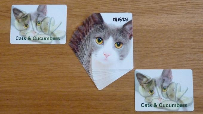 Misty and card backs