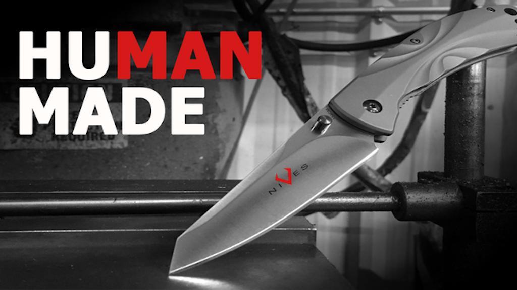 V Nives: Human Made Knives For Everyone project video thumbnail