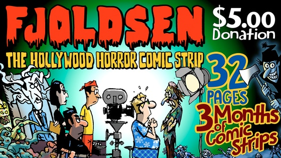 Fjoldsen Collection - The Hollywood Horror Comic Strip