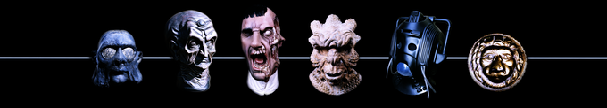 Just a small sample of some of the original artefacts from the 'Classic Doctor Who' section of the museum.