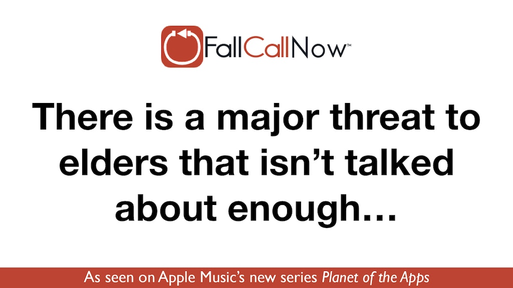 FallCall Now™: Smarter fall detection project video thumbnail
