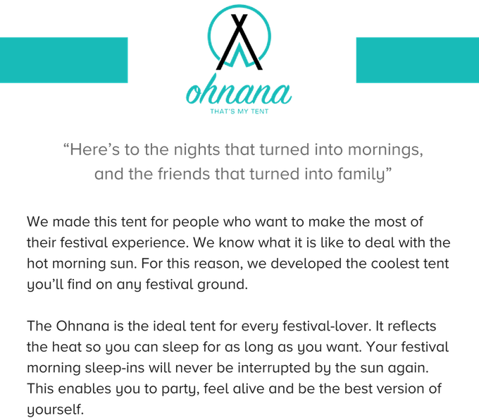 Ohnana: The Coolest Tent for Festival Lovers by Ohnana Tents