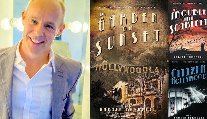 Martin Turnbull's Hollywood's Garden of Allah novels