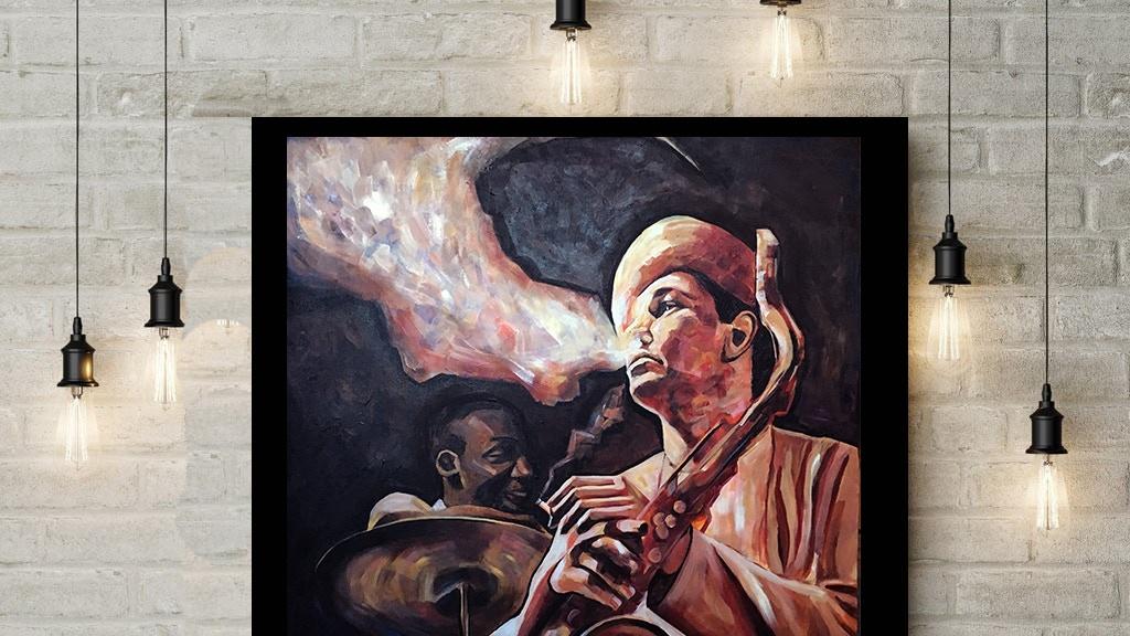 Project image for Painting the Jazz Greats-Duke Ellington